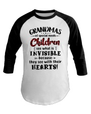 Grandmas of special needs children Baseball Tee thumbnail