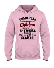 Grandmas of special needs children Hooded Sweatshirt front