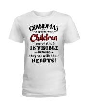 Grandmas of special needs children Ladies T-Shirt thumbnail