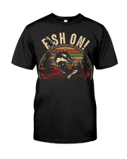 Fish on  Classic T-Shirt front