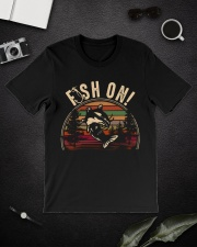 Fish on  Classic T-Shirt lifestyle-mens-crewneck-front-16