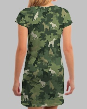 Bull Terrier Camo All-over Dress aos-dress-back-lifestyle-3