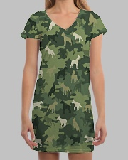 Bull Terrier Camo All-over Dress aos-dress-front-lifestyle-3