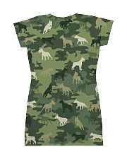 Bull Terrier Camo All-over Dress back