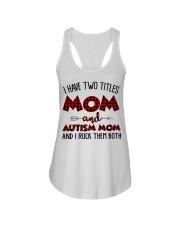Mom And Autism Mom Ladies Flowy Tank thumbnail