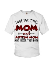 Mom And Autism Mom Youth T-Shirt thumbnail