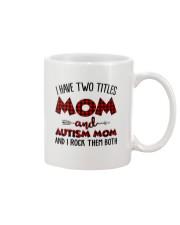 Mom And Autism Mom Mug thumbnail