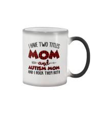 Mom And Autism Mom Color Changing Mug thumbnail