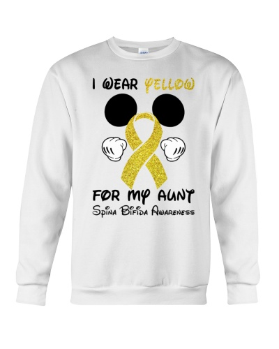 I wear yellow for my aunt