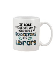 If Lost Please Return To Closest Bookstore Mug thumbnail