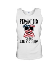 Staying FLy Unisex Tank tile