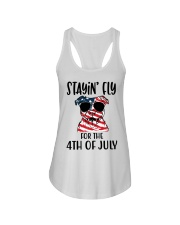 Staying FLy Ladies Flowy Tank tile