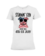 Staying FLy Premium Fit Ladies Tee front