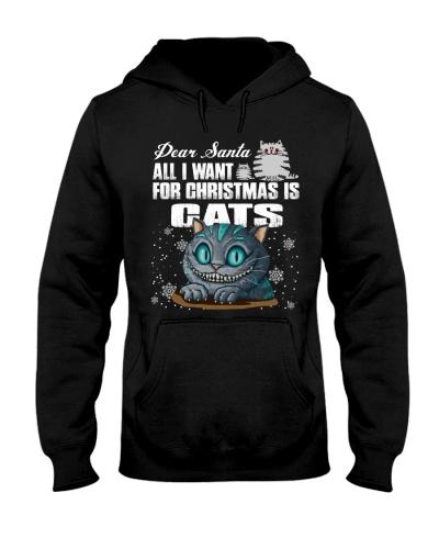 Dear santa all i want for christmas is cats