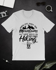 Put Those Boots On And Start Hiking Classic T-Shirt lifestyle-mens-crewneck-front-16