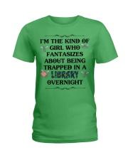 library overnight Ladies T-Shirt thumbnail