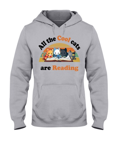 All the cool cats are reading