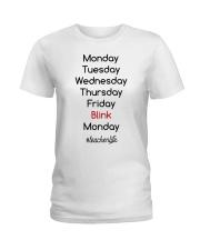 Blink Teacher Life Ladies T-Shirt thumbnail