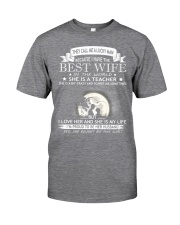 Nice shirt for teachers in Valentine's day Classic T-Shirt thumbnail