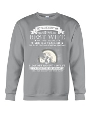 Nice shirt for teachers in Valentine's day Crewneck Sweatshirt thumbnail