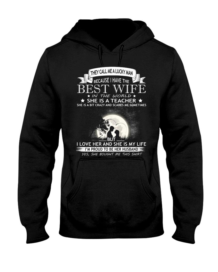 Nice shirt for teachers in Valentine's day Hooded Sweatshirt
