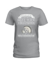 Nice shirt for teachers in Valentine's day Ladies T-Shirt thumbnail
