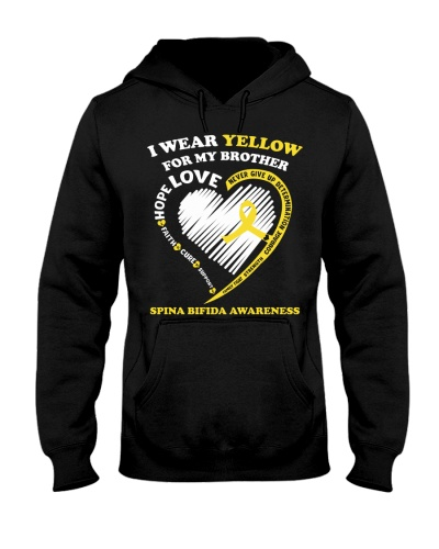 I wear yellow for my brother