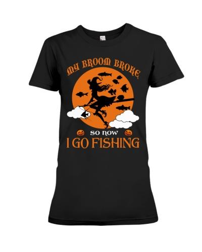 My Broom Broke So Now I Go Fishing