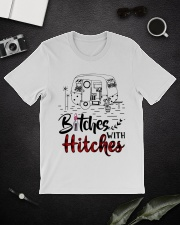 Bitches With Hitches Camping Classic T-Shirt lifestyle-mens-crewneck-front-16
