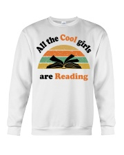 All the cool girls are reading Crewneck Sweatshirt tile