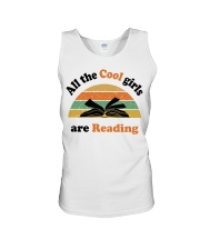 All the cool girls are reading Unisex Tank tile