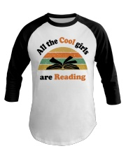 All the cool girls are reading Baseball Tee tile