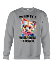 Owned by a Yorkshire Terrier Crewneck Sweatshirt thumbnail