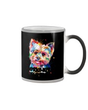 Owned by a Yorkshire Terrier Color Changing Mug thumbnail