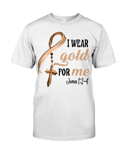 I wear Gold for me