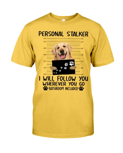 Personal Stalker Golden Retriever