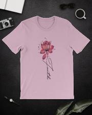 Faith Breast Cancer Classic T-Shirt lifestyle-mens-crewneck-front-16