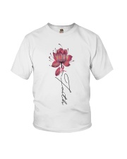 Faith Breast Cancer Youth T-Shirt thumbnail