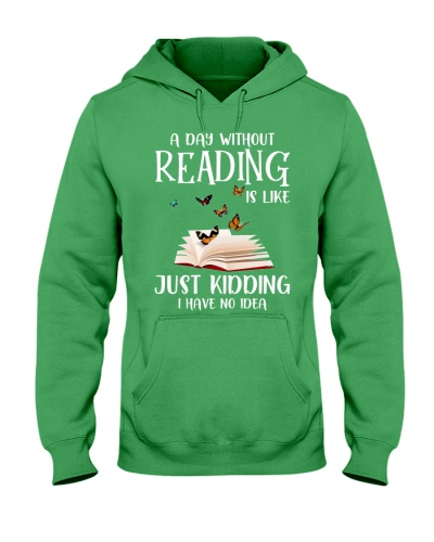 A day without reading is like just kidding no idea