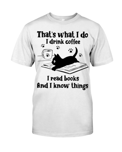 That's what i do i drink coffee i read books