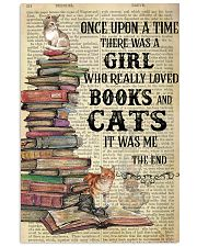 Books Cats Once Upon A Time Vertical Poster 11x17 Poster front