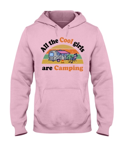 All the cool girls are camping