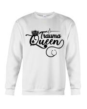 Trauma Queen Crewneck Sweatshirt thumbnail
