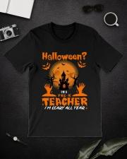 Halloween PreK Teacher Classic T-Shirt lifestyle-mens-crewneck-front-16