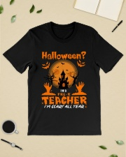Halloween PreK Teacher Classic T-Shirt lifestyle-mens-crewneck-front-19