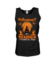 Halloween PreK Teacher Unisex Tank thumbnail