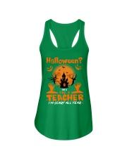 Halloween PreK Teacher Ladies Flowy Tank thumbnail
