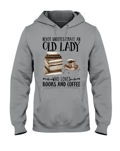 Never underestimate an old lady who loves books