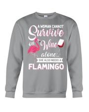 Flamingo Shirt Crewneck Sweatshirt thumbnail