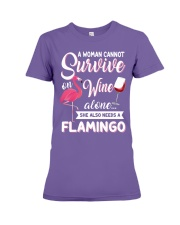 Flamingo Shirt Premium Fit Ladies Tee thumbnail